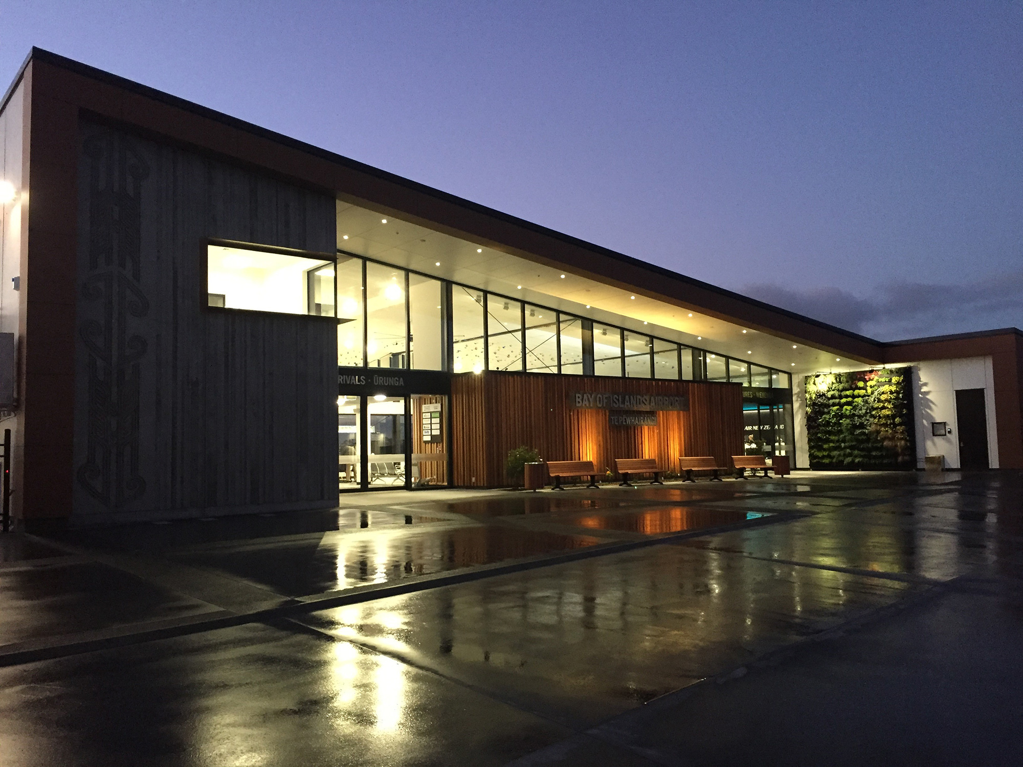 New Bay of Islands Airport Terminal Building